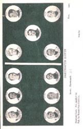 1905 Dominoe Postcards #3 Dartmouth/D.J. Church/G.N. Bankart/A.H. Thayer/J.B. Glaze/E.D. Rich/J.T. Griffin/R. Glaze/Lang/J.W. Gage/D.J. Main/E.A. Herr