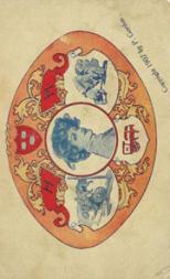 1907 Gordon Ivy League Postcards #5 Harvard