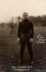 1910 Penn State Postcards #1 Bull McCleary