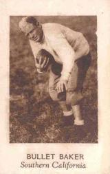 1928 Star Player Candy #2 Bullet Baker