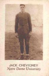 1928 Star Player Candy #5 Jack Chevigney