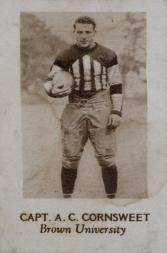1928 Star Player Candy #7 A.C. Cornsweet