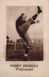 1928 Star Player Candy #9 Paddy Driscoll