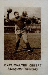 1928 Star Player Candy #14 Walter Gebert