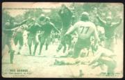1926 Exhibit Red Grange One Minute to Play #1 Red Grange Green