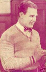 1926 Exhibit Red Grange One Minute to Play #2 Red Grange in sweater