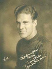 1932 Packers Walker's Cleaners #2 Frank Baker