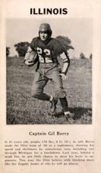 1933 College Captains #1 Gil Berry