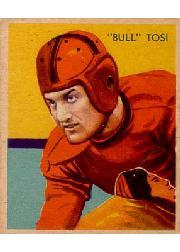1935 National Chicle #27 Bull Tosi RC