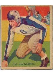 1935 National Chicle #29 Jim MacMurdo RC