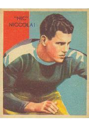 1935 National Chicle #31 Nic Niccola RC