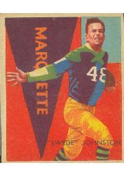 1935 National Chicle #32 Swede Johnston RC