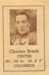 1940 Nebraska Don Leon Coffee #2 Charles Brock
