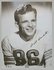 1945 Ohio State #8 Bill Hackett