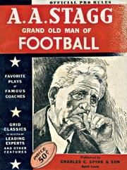 1946-50 Spink NFL Guides #1946 Official Pro Rules