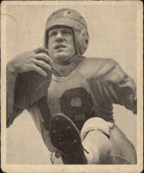 1948 Bowman #33 Fred Gehrke SP RC