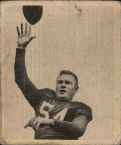 1948 Bowman #44 Paul Christman RC