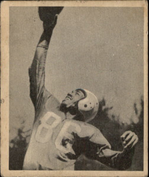 1948 Bowman #47 Bob Mann RC