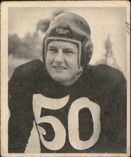 1948 Bowman #58 Robert Nussbaumer RC