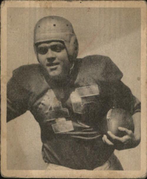 1948 Bowman #65 Mike Holovak RC