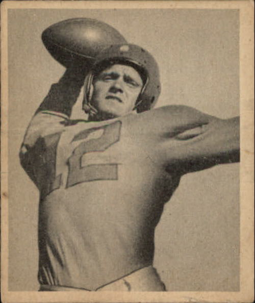 1948 Bowman #71 Les Horvath RC