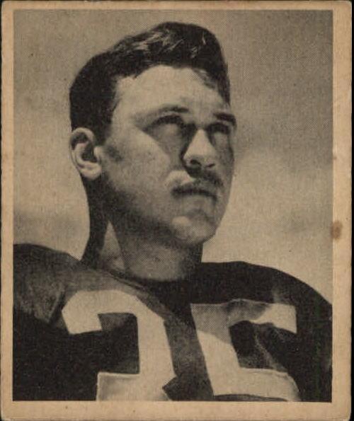 1948 Bowman #80 Bill Dudley RC