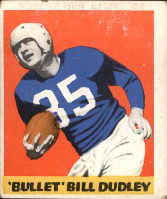1948 Leaf #36 Bill Dudley RC
