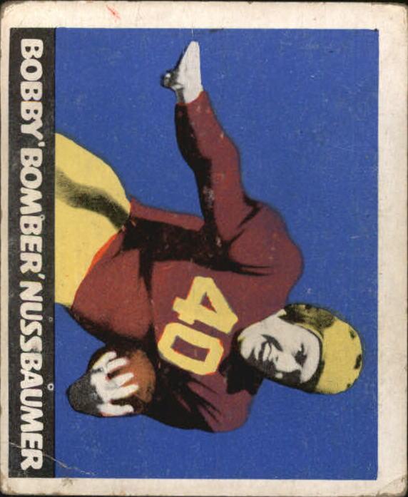 1948 Leaf #43A Robert Nussbaumer MJ RC/(Maroon Jersey)