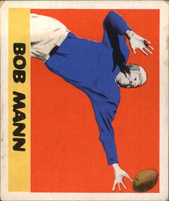 1948 Leaf #44 Bob Mann RC