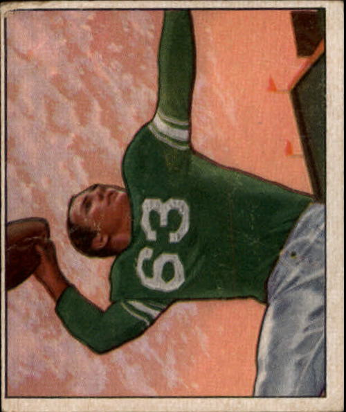 1950 Bowman #5 Y.A.Tittle RC