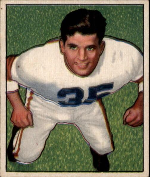 1950 Bowman #7 Alex Agase RC
