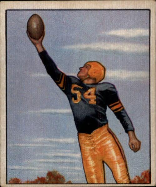 1950 Bowman #18 Val Jansante RC