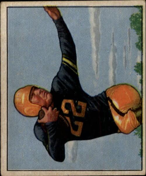 1950 Bowman #20 Jerry Nuzum RC