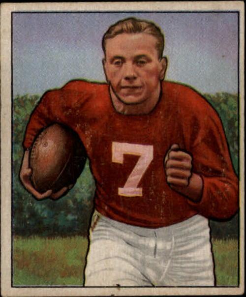 1950 Bowman #21 Elmer Bud Angsman