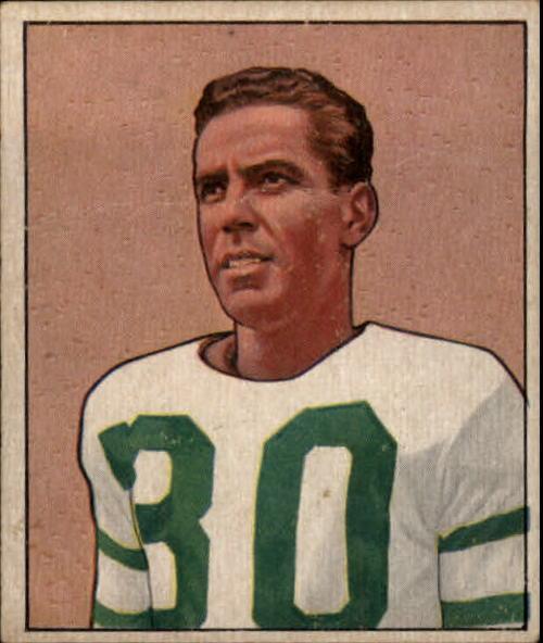 1950 Bowman #25 Bosh Pritchard