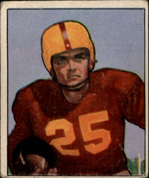 1950 Bowman #31 George Thomas RC