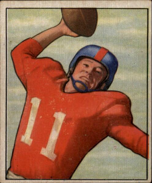 1950 Bowman #33 Travis Tidwell RC