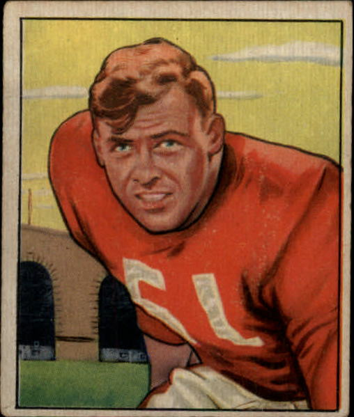 1950 Bowman #34 Gail Bruce RC