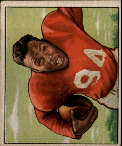 1950 Bowman #35 Joe Perry RC