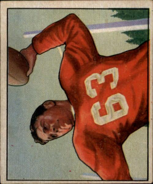 1950 Bowman #36 Frankie Albert RC
