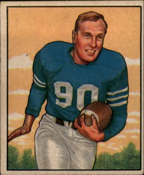 1950 Bowman #39 B.Hoernschemeyer RC