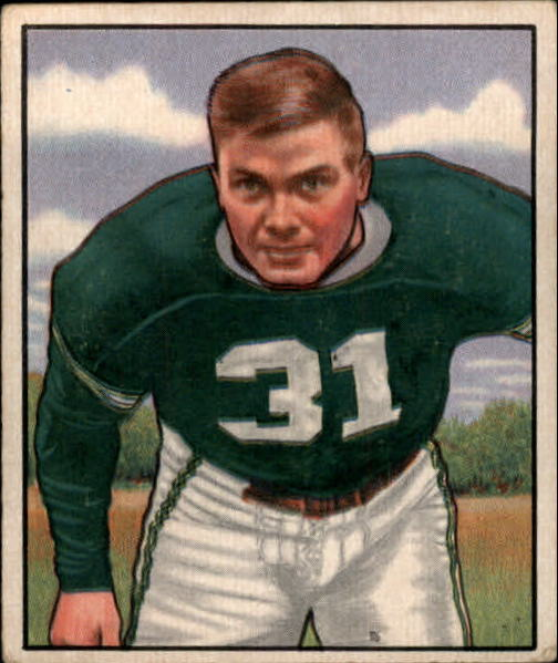 1950 Bowman #40 Dick Barwegan RC