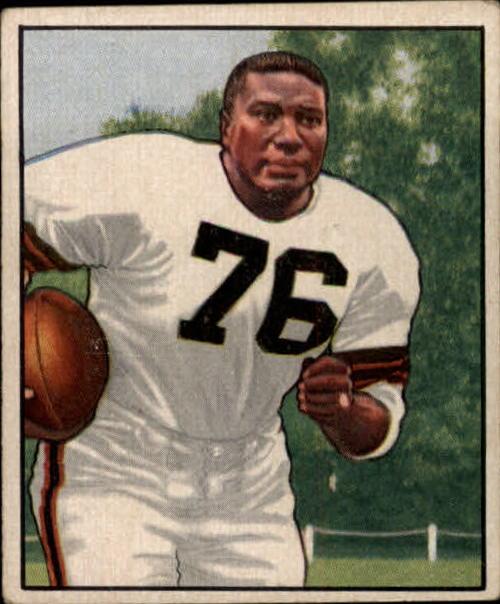 1950 Bowman #43 Marion Motley RC