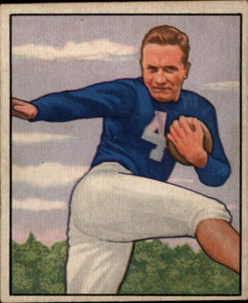 1950 Bowman #50 Mike Swistowicz RC
