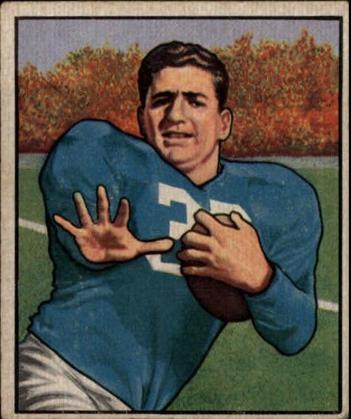 1950 Bowman #75 John Panelli RC