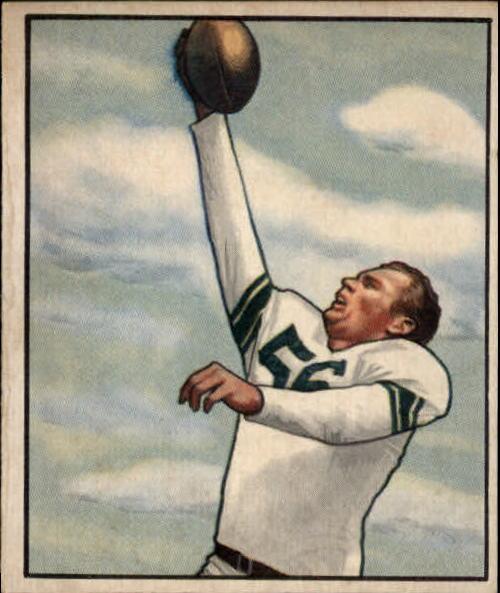 1950 Bowman #76 Bill Leonard RC
