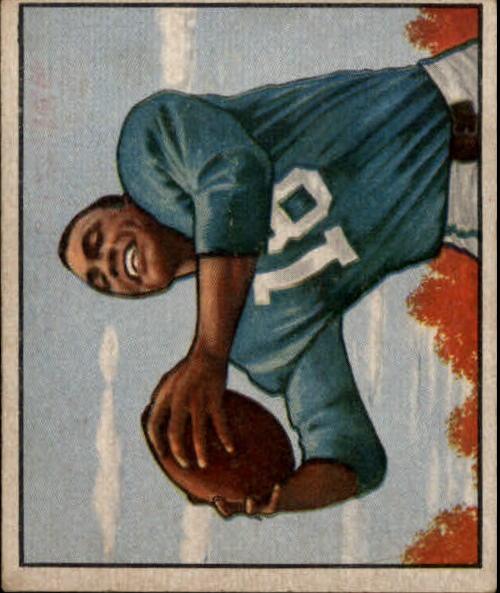 1950 Bowman #109 Wallace Triplett RC