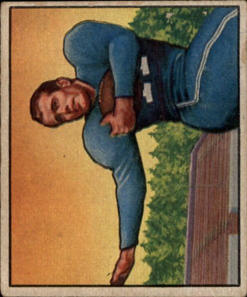 1950 Bowman #111 Cloyce Box RC