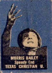 1949 Topps Felt Backs #2 Morris Bailey RC