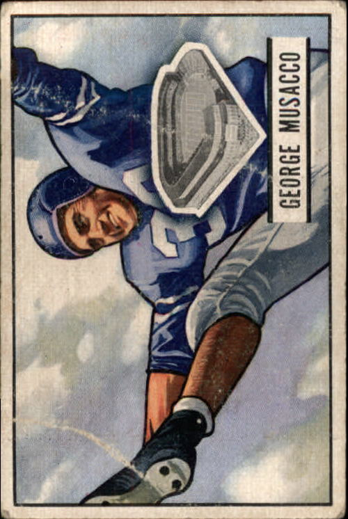 1951 Bowman #7 George Musacco RC
